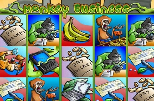 Playing the Monkey Business Slots Game