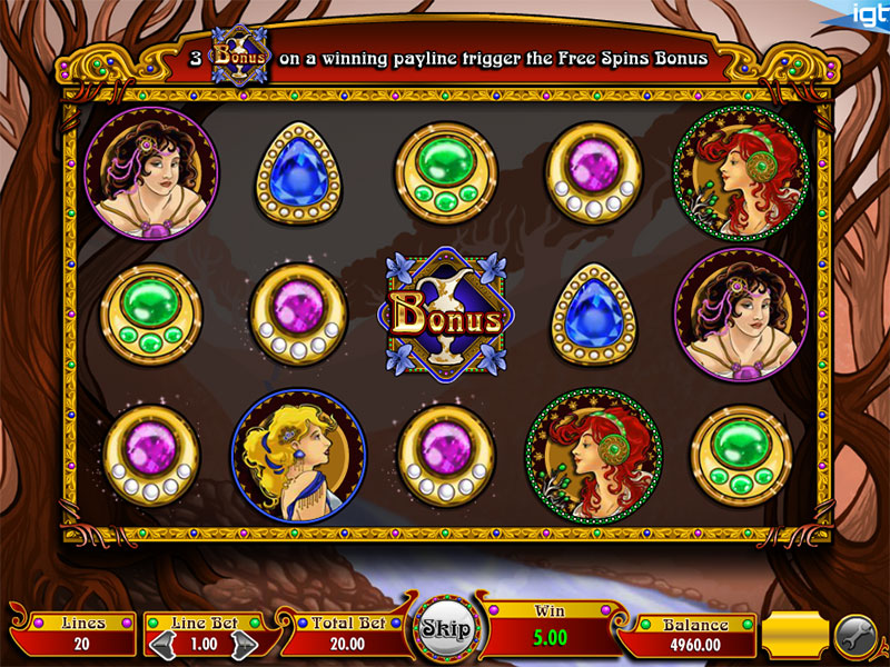 Nouveau Riche Video Slot Game Overview