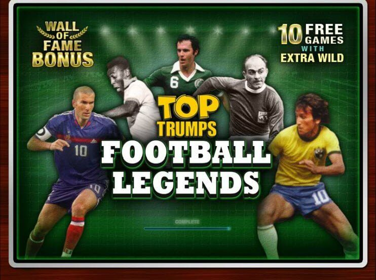 Top Trumps Football Legends Online Slots Game Overview